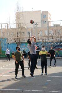 """برگزاری روز دوم مسابقات والیبال """"گرامیداشت دهه مبارکه فجر"""""""